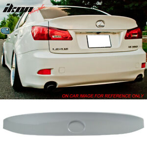 For 06 13 Lexus Is250 Is350 Ikon Trunk Spoiler Painted Glacier Frost Mica 074