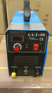 Plasma Cutter Cut50 Inverter 220v Voltage 58 Consumables 2018 Model 50amp New
