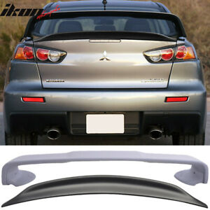 Fits 08 17 Mitsubishi Lancer Evolution 10 X Original Evo Trunk Spoiler Duck Wing