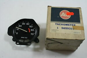 Ac Gm Tachometer Rpm Gauge 561765 5659319 1978 Hm Body With Rally Gauges