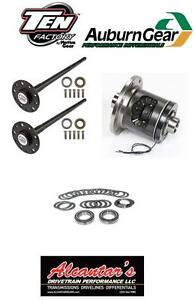 Super 35 Axle Ected Max Locker Kit 91 06 Jeep Yj tj Xj Zj W Dana 35 Rear