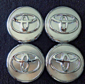 Toyota 56 Mm Wheel Center Hub Caps For Vios Yaris Prius Set Of 4
