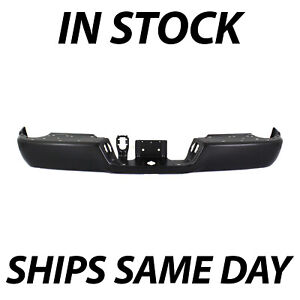 New Primered Bumper Face Bar For 2009 2018 Dodge Ram 1500 W Out Park Dual Exh