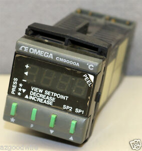 Omega Engineering Cn9000 Microprocessor Based Temperature Controller Cn9121a