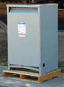 Eaton Cutler hammer V48m28t49ee Dry Type 3 Phase Distribution Transformer 150kva