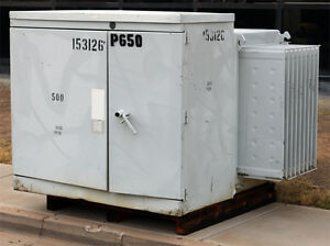 Abb V42a5643mn Oil Filled High Voltage Transformer 4160v 208y 120 500kva