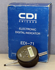 Cdi Chicago Dial Edi 71 Electronic Digital Indicator New