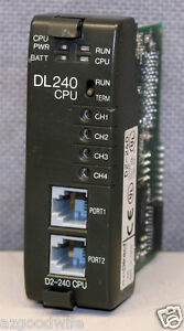 Automation Plc Direct D2 240 Direct Logic 205 Cpu Module