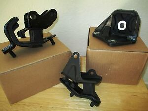 Fits 2004 2008 Acura Tsx 2 4l L4 Set Of 3 Manual Transmission Mounts
