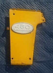 Farmall Ih 460 Utility Radiator Side Panel With Emblem Left Side International