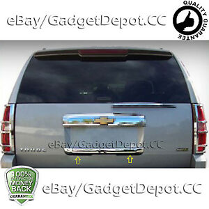 For 2007 2010 2011 2012 2013 Chevrolet Tahoe Chrome Lower Tailgate Handle Cover
