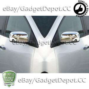 For 2008 2009 2010 2011 2012 2013 Nissan Rogue Chrome Full Mirror Covers Set