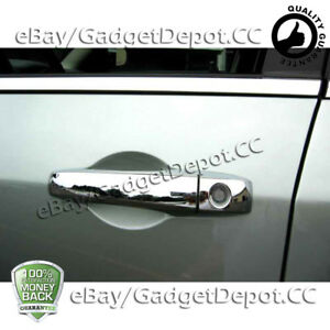 For 2007 2012 Jeep Patriot 4 Chrome Door Handle Cover W O Psg Keyhole