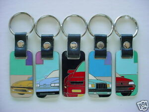 Lot Of 5 New Euroseries Collection Key Fobs