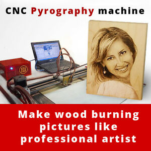 Cnc Wood Burner Machine For Home Business Burned Pictures From Photo