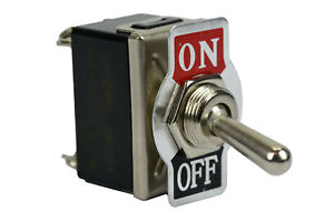 Temco Heavy Duty 20a 125v On off Dpst 4 Terminal Toggle Switch