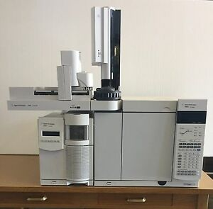 Agilent 7890 Gas Chromatograph Mass Spectrometer Gc ms System