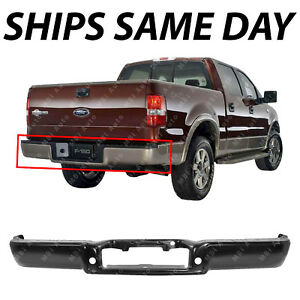 New Primered Steel Rear Step Bumper Shell For 2004 2005 2006 Ford F150 04 05 06