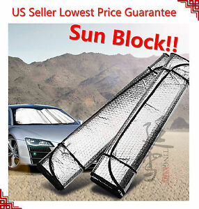 Auto Car Sun Shade Foldable Sun Visor For Front Wind Shield Windows Protect
