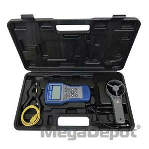Mastercool 52255 System Analyzer With Round Vane Clamp on Thermocouple