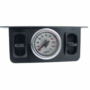 Dual Needle Gauge With Two Paddle Switches Air Ride Bagged Rat Rod Mini