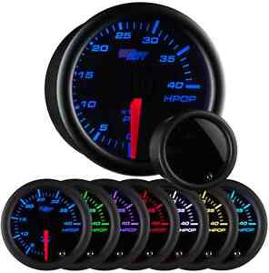Glowshift Tinted 7 Color High Pressure Oil Pressure Hpop Gauge Gs T721