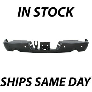 New Primered Rear Bumper Face Bar For 2009 2018 Ram 1500 Pickup W Park