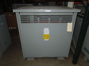 Fargo Electric 220kva 240 400y 231v 3ph Dry Type Transformer K 4 Used E ok