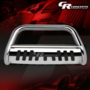 Chrome 3 Front Bull Bar Grille grill Guard For 15 17 Chevy gmc Colorado canyon