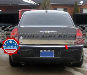 Fit 2005 2010 Chrysler 300 300c Rear Trunk Lower Trim Accent Stainless 3 5 1pc