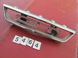 68 1968 Ford Torino Ranchero Gt Center Oem Grille Emblem
