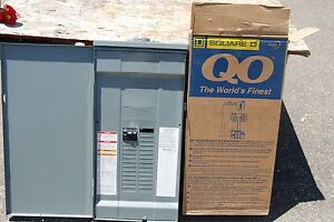 Square D Qo327m100rb 100a 3 Ph Circuit Breaker Panel Rainproof Outdoor Main Inc