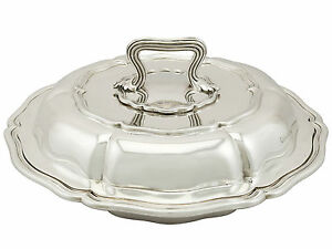 Antique William Iv Sterling Silver Entree Dish By Paul Storr 1836