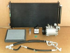 New Ac Compressor Kit 2007 2011 Honda Crv 8 New Parts
