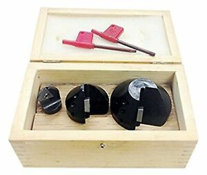 Hhip 2001 0011 3 Piece Indexable Countersink Chamfer Tool Set 82 Degree