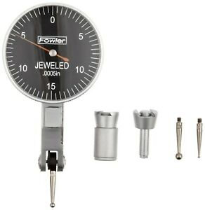 Fowler 52 562 780 Black Face Dial Test Indicator 0 030 Maximum Measuring Range