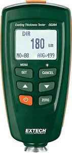 Brand New Extech Cg204 Coating Thickness Tester
