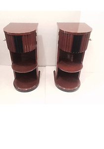 Pair Art Deco Kittinger Nightstands End Tables 30s Vintage Retro