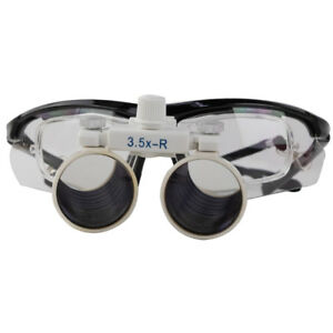 3 5x Dental Loupes Surgical Binocular Optical Fit Prescription Lenses Cv 293
