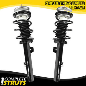 2006 Bmw 325i Rwd Front Quick Complete Struts Coil Spring Assembly Pair