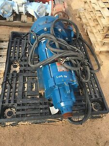 New Reliance Electric 40 Hp 3 Phase Sump Sewage Pump Duty Master A c Motor