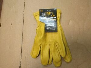 Wells Lamont Premium Leather Work Gloves Lot Of 3 Pairs Large 1209l 0247 a