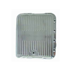 Rpc Transmission Oil Pan R8493 Finned Polished Aluminum For Chevy 700 r4