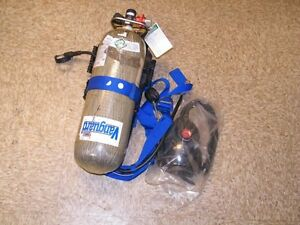 Vanguard Isi Scba Breathing System Carbon Tank Face Mask 4500 Psi Self Contained