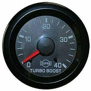 Eva 2 1 16 Turbo Boost Pressure 0 40 Psi R5653r Gauge Only Isspro Autometer