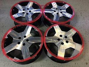 18 18 Inch Chevy Cobalt Polished Alloy Wheels Rims Hollander 5270 Set Of 4