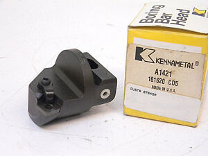 New Kennametal Carbide Indexable Boring Head A1421 spg 422 15 Lead