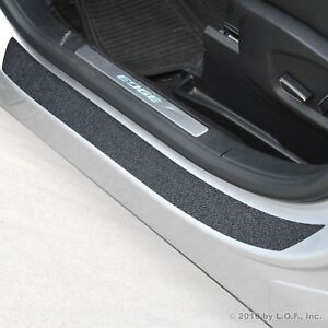 2015 18 Fits Ford Edge 4pc Door Sill Step Protector Threshold Shield Pads Cover
