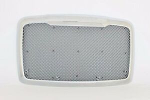 Fits W O Bug Screen Freightliner Cascadia Front Grille Chrome Custom Mesh Style