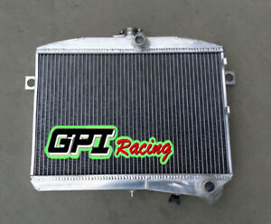 50mm Fit Volvo Amazon P1800 B18 Engine Gt 1951 1973 M t Aluminum Radiator